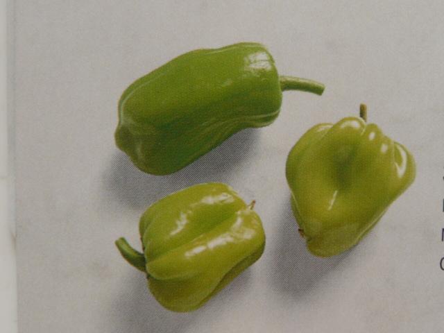 зелёный турецкий перец