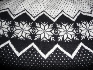 узор вязания спицами
