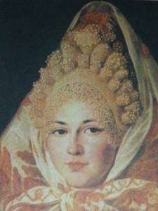 русский головной убор XIX века